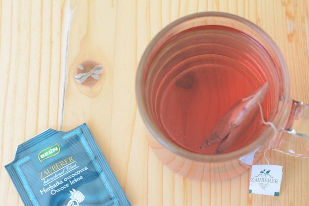 belin sauberer forest fruit flavored tea