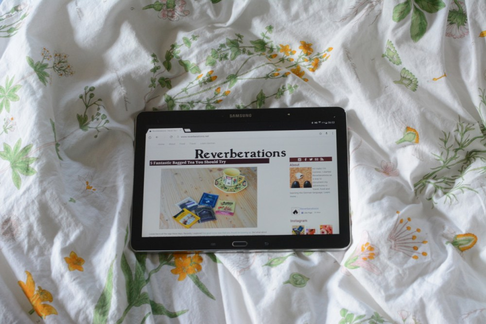 reverberations tablet
