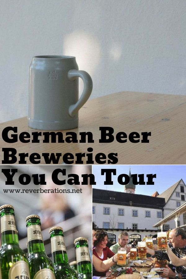 Germany is known for its beer. If you're a fan of German beer or just in seeing how things are made, here's a list of German beer breweries that you can tour! #germany #beer #travel