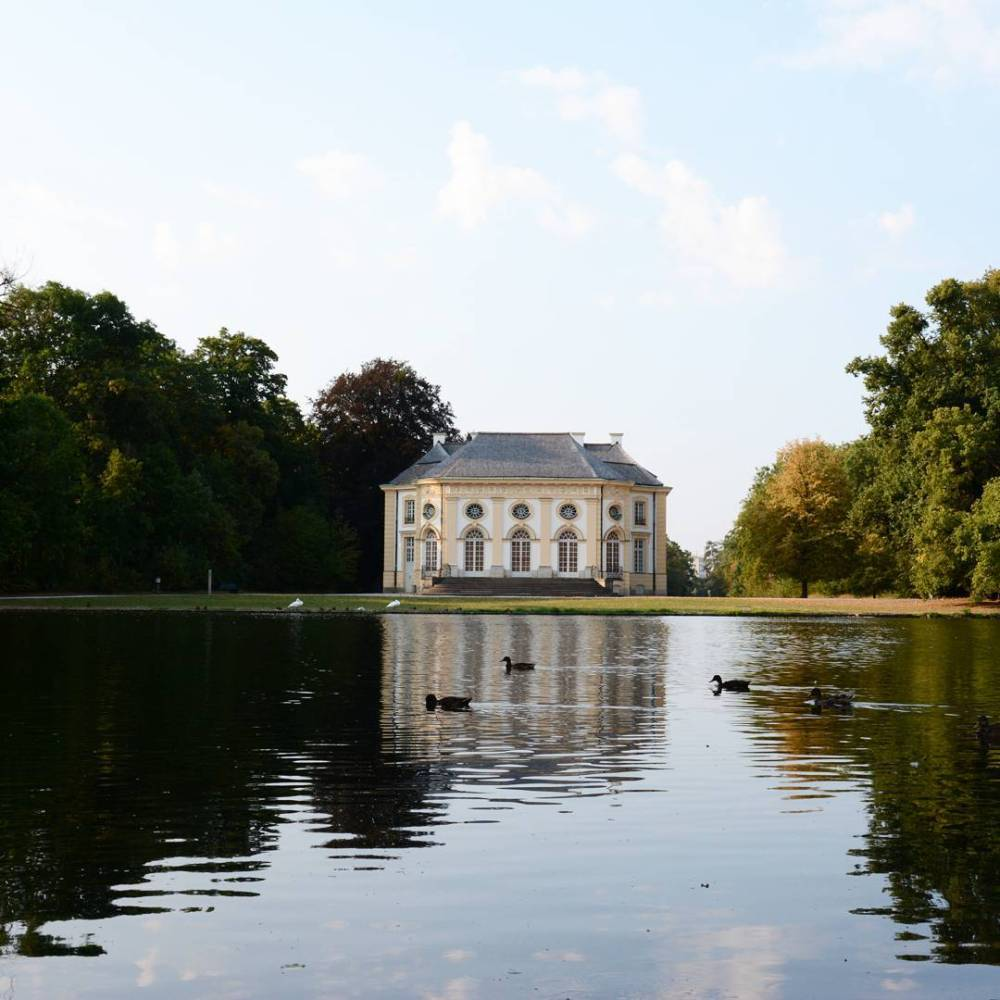Badenburg in Nymphenburg Palace Park