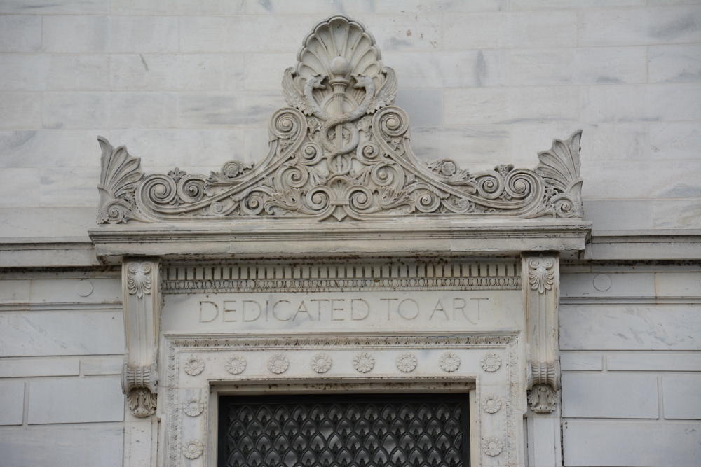 Corcoran School doorway. More on how to spend your day in Washington, D.C. on Reverberations.