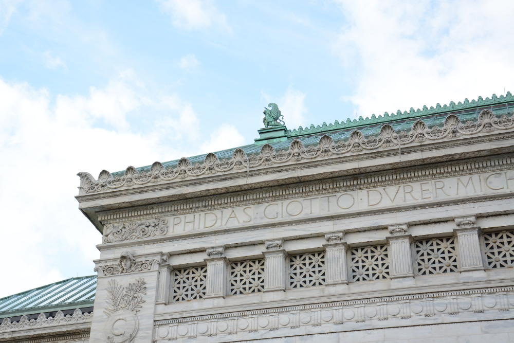 Corcoran School. More on how to spend your day in Washington, D.C. on Reverberations.