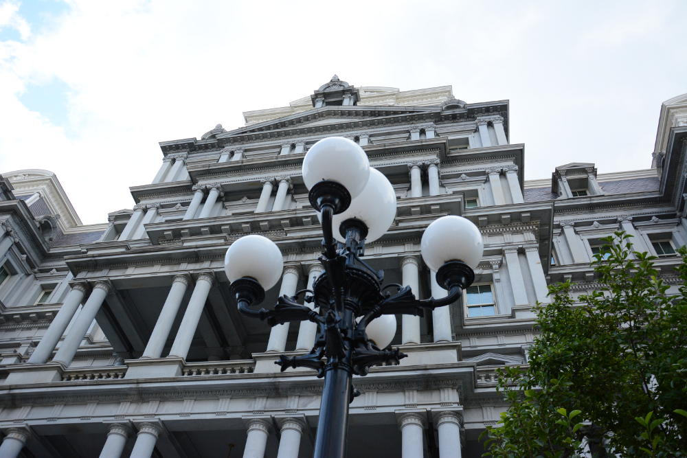 Eisenhower Executive Office Building. More on how to spend your day in Washington, D.C. on Reverberations.