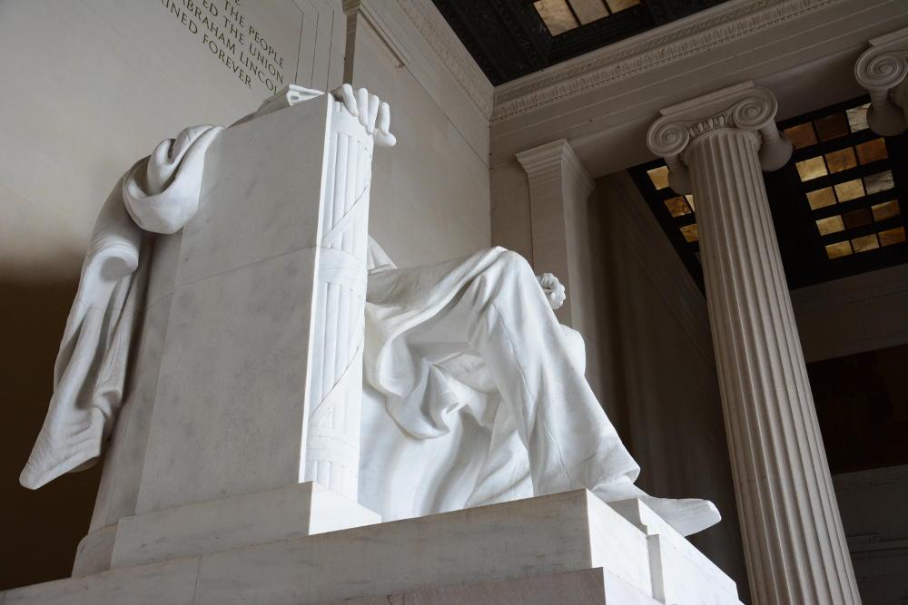 lincoln memorial close up washington dc