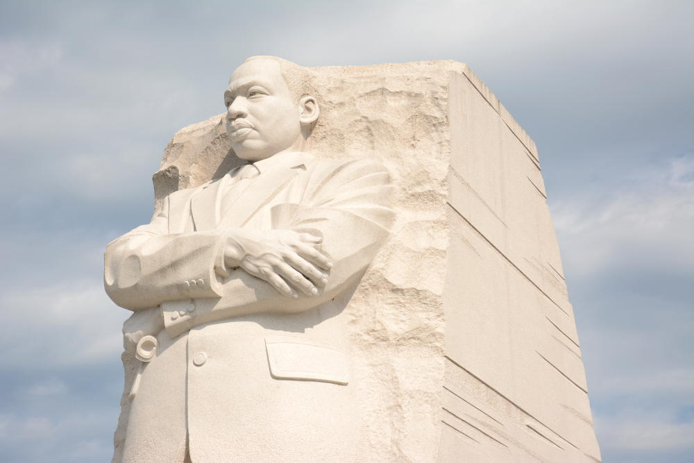 MLK Jr. Memorial on the National Mall. More on how to spend your day in Washington, D.C. on Reverberations.