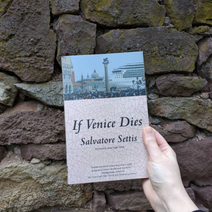 Salvatore Settis' book If Venice Dies argues to save this historic city.