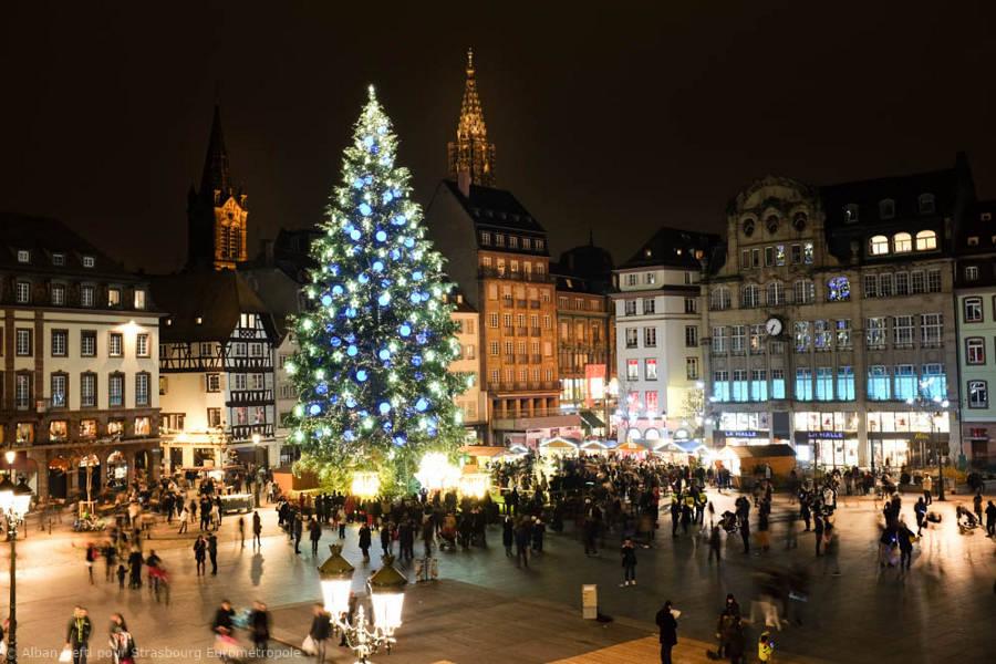 strasbourg france Christkindelsmärik christmas market