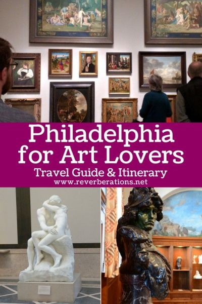 Philadelphia art scene offers impressionism, sculptures, murals, and more. Experience the best of the Philadelphia art with this travel guide and itinerary. #philadelphia #philly #visitphilly #visitpa #pennsylvania #art #travel