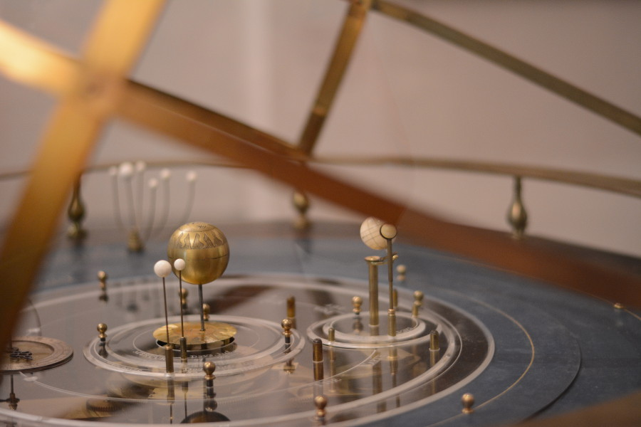 Astronomical tool at the Bayerisches Nationalmuseum.
