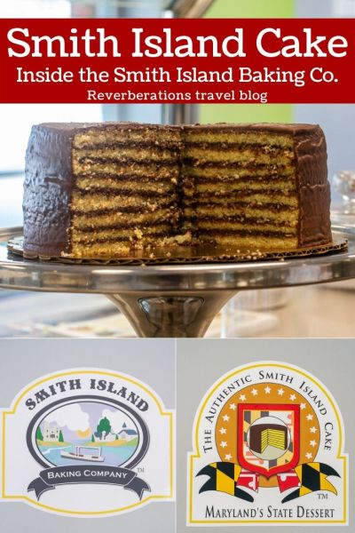 Steeped in history and tradition, Maryland's Smith Island Cake is the indulgent state dessert. Get a peek of Smith Island Baking Company, the Maryland bakery making the cakes! #smithisland #smithislandcake #maryland #usa