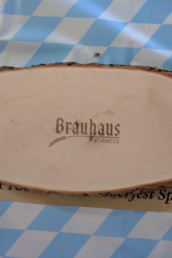 Charcuterie board from Brauhaus Schmitz in Philadelphia.