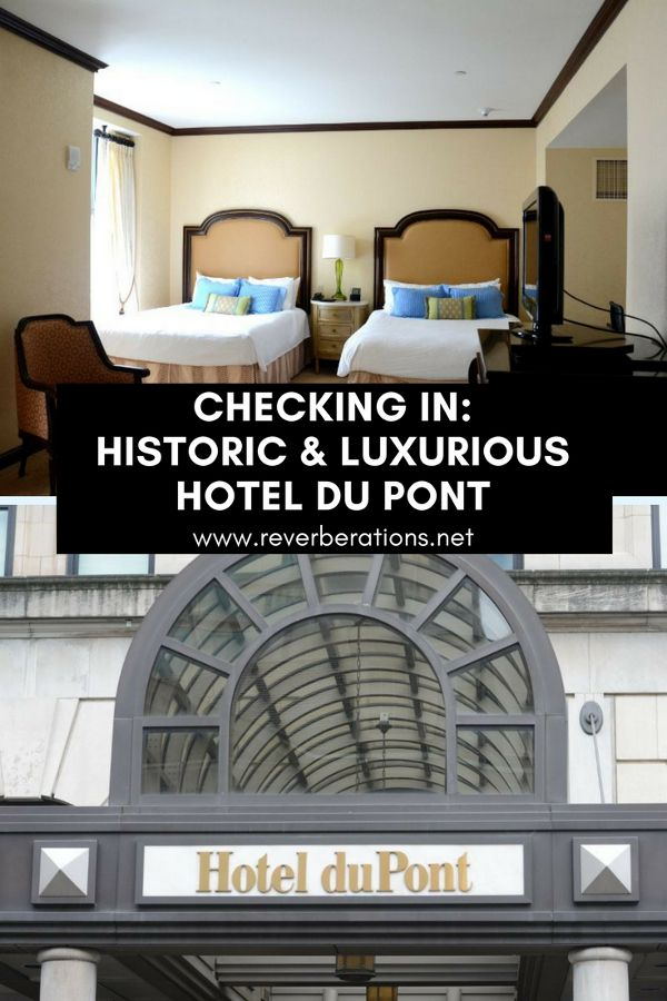 Luxury and history merge at Hotel Du Pont in Wilmington, Delaware. The downtown hotel offers spacious, comfortable rooms and quality service.