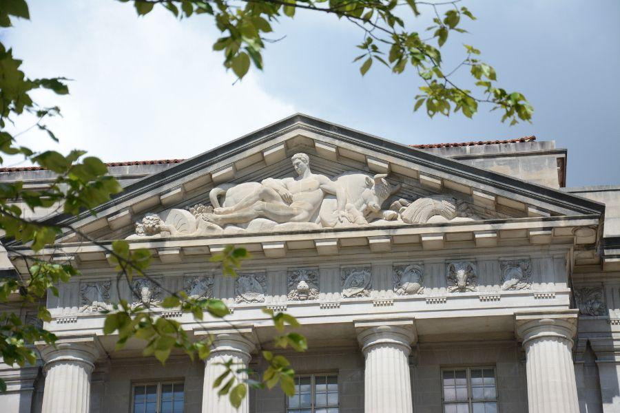 Architecture in Washington DC.