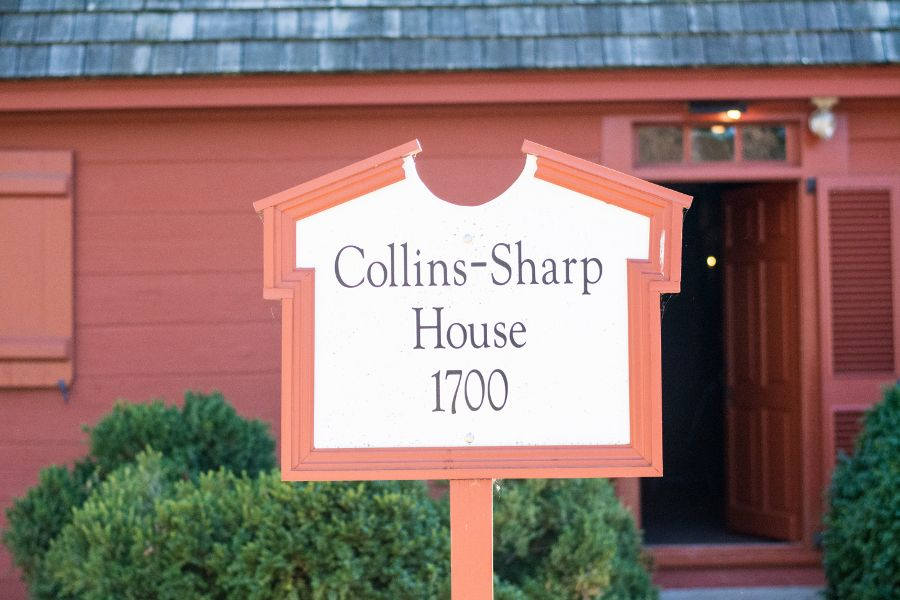 The Collins-Sharp House in Historic Odessa, Delaware.