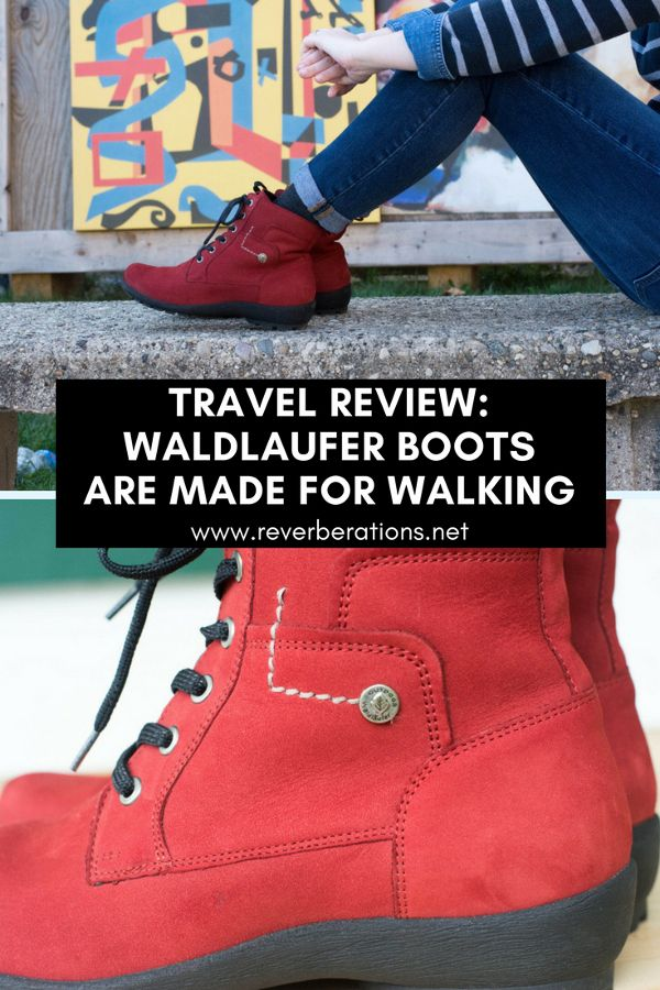 German shoe brand Waldlaufer make stylish and comfortable shoes perfect for travel and everyday. Review of Waldlaufer's Dede Holma Boots.