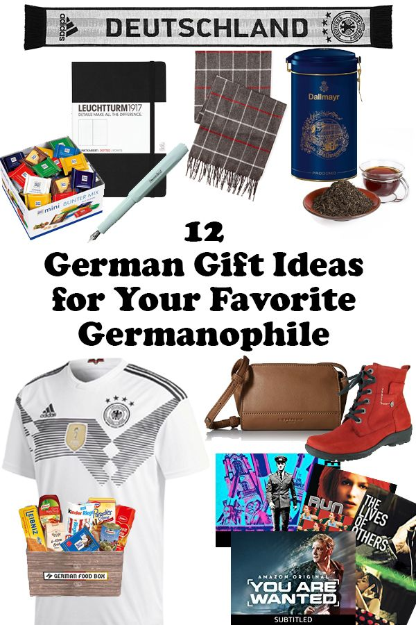 Searching for just the right gifts for German lovers? I have just the gift guide for you! Here are 12 German gifts for your favorite Germanophile! #germany #travel #giftguide