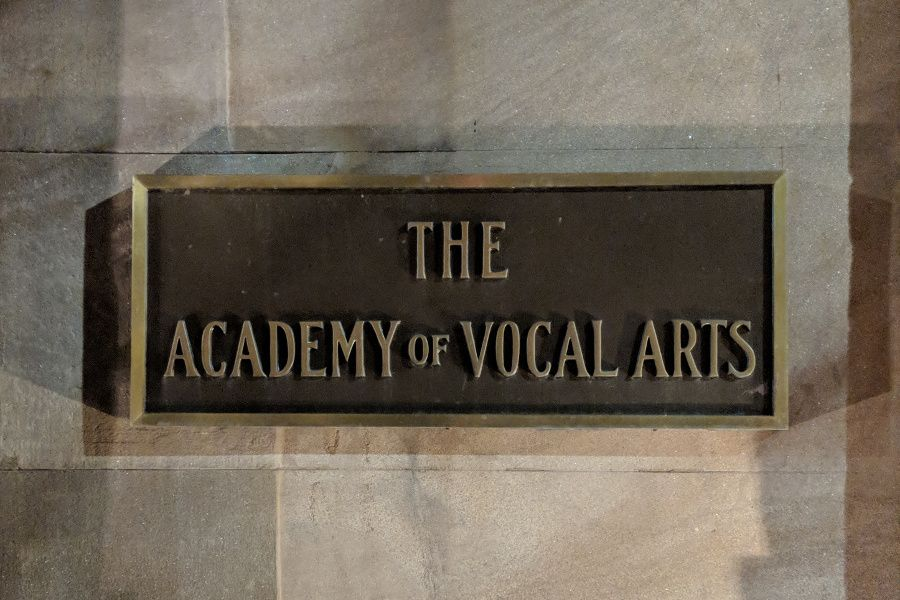 Academy of Vocal Arts in Philadelphia.