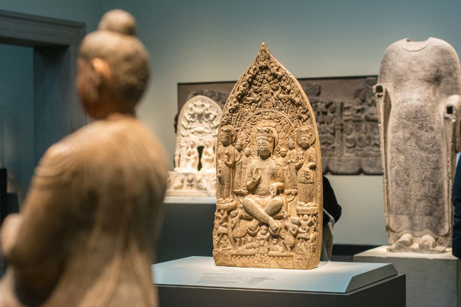 Indian art on display at the Freer|Sackler Galleries in Washington DC.