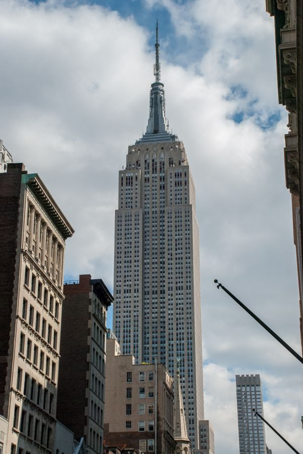 Enjoying the Empire State Building is one of the great free things to do in New York City.