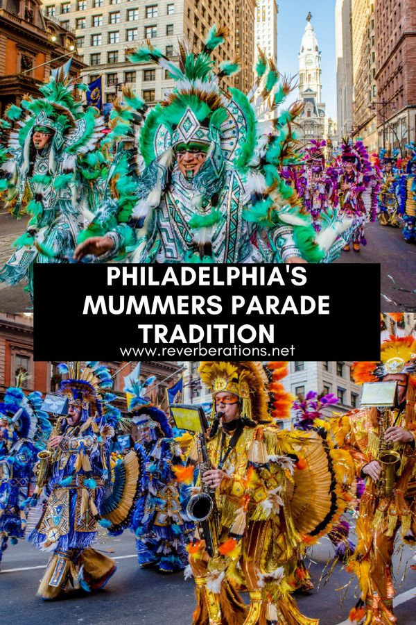 Mummers Parade is one of those distinctly Philadelphia traditions that can be difficult for outsiders to understand. Each year on New Year's Day they strut their stuff through Philly. And in true Philly fashion you either love them or you hate them. #philadelphia #philly #mummers