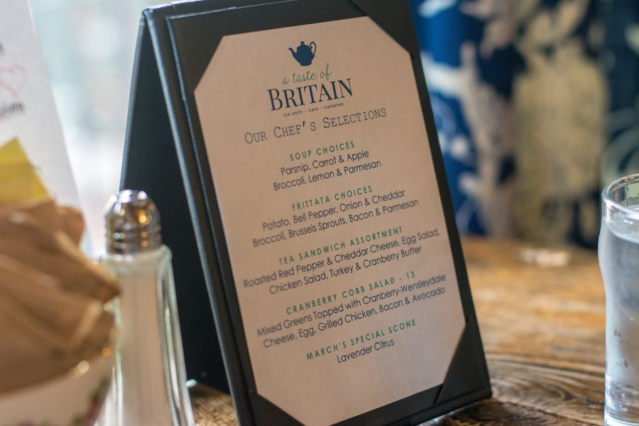 Chef's Selections at A Taste of Britain.