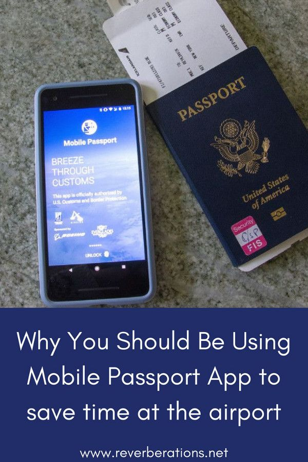 Mobile Passport app promises a quick trip through U.S. Customs and Border Protection on arrival in USA from abroad. It seems too good to be true but it doesn't disappoint! Review using Mobile Passport at Newark Liberty International Airport. #traveltips
