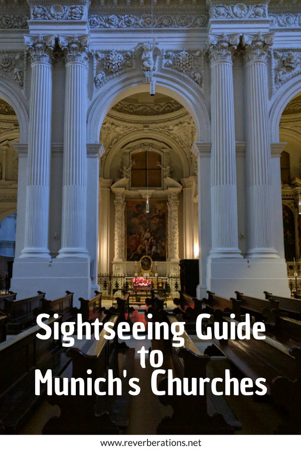 Munich's churches and cathedrals are a popular spot and not just for the pious. Beautiful architecture, art and history awaits visitors inside the churches. Here's a sightseeing guide for visiting six of Munich's most notable churches in the downtown area. #churches #church #munich #bavaria #germany