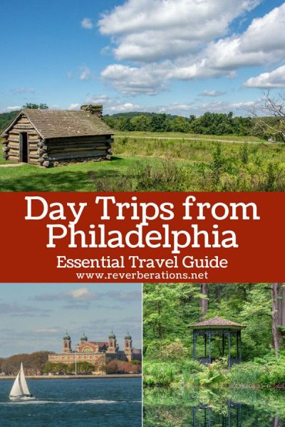 """Your essential guide to great, fun day trips from Philadelphia. Within only a few hours you can be up in the mountains or """"down the shore."""" #daytrips #travel #visitphilly #visitpa #philadelphia"""