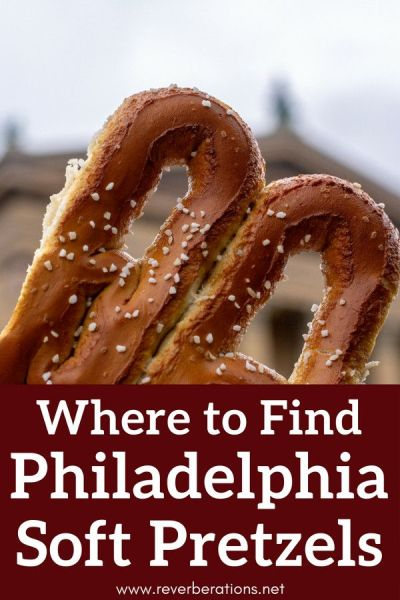 Philadelphia soft pretzels are an iconic part of the city's food scene. Here are three top spots where you can find Philadelphia soft pretzels! #pretzels #foodie #philadelphia #philly #visitphilly #visitpa