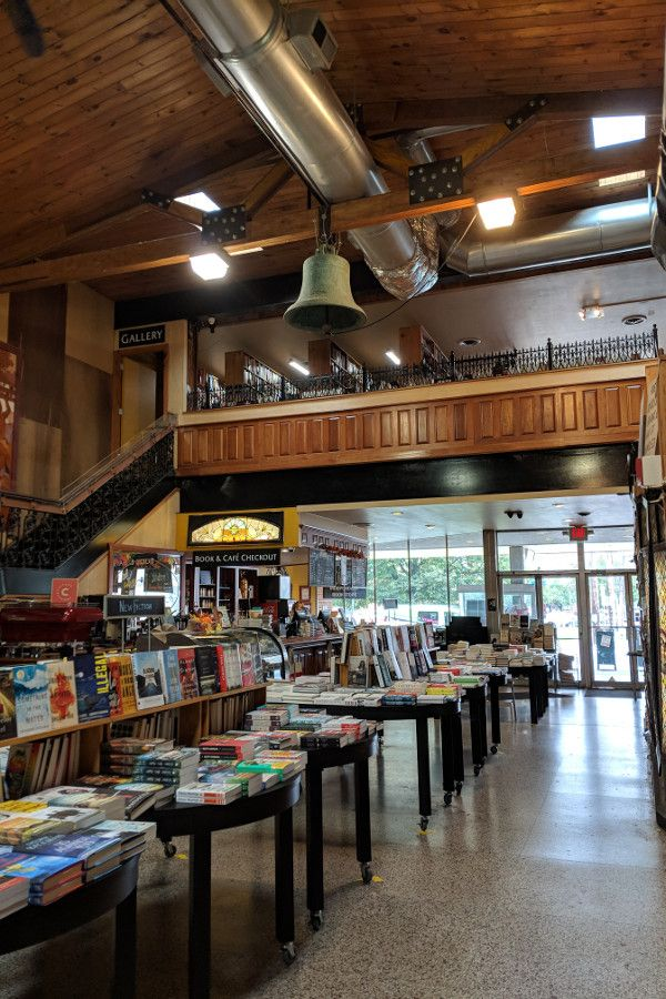 Inside the Midtown Scholar Bookshop in Midtown Harrisburg, Pennsylvania.