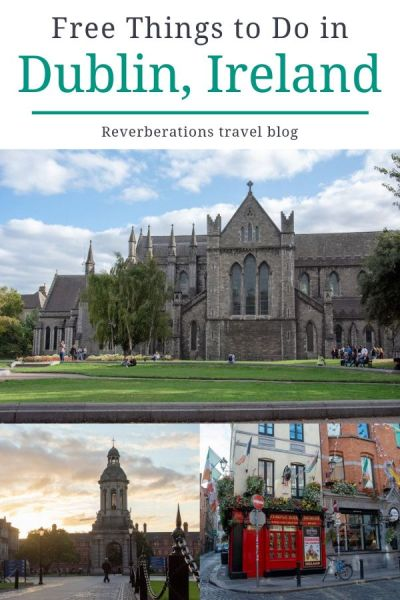 There are lots of fun free things to do in Dublin, Ireland. Tour the president's home, explore the city, and visit free museums in Dublin without feeling like a budget traveler! #dublin #ireland #travel