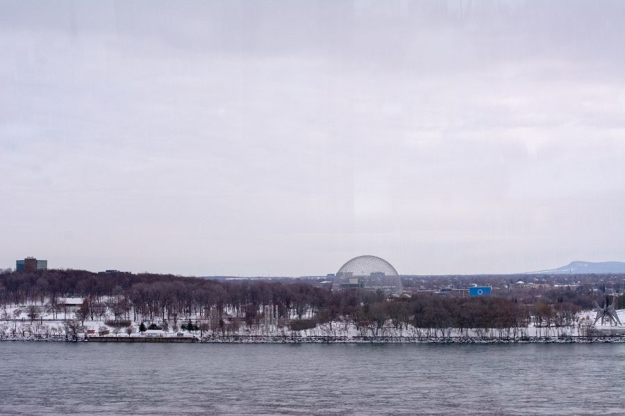 A view of Parc Jean-Drapeau in Montreal, Canada.