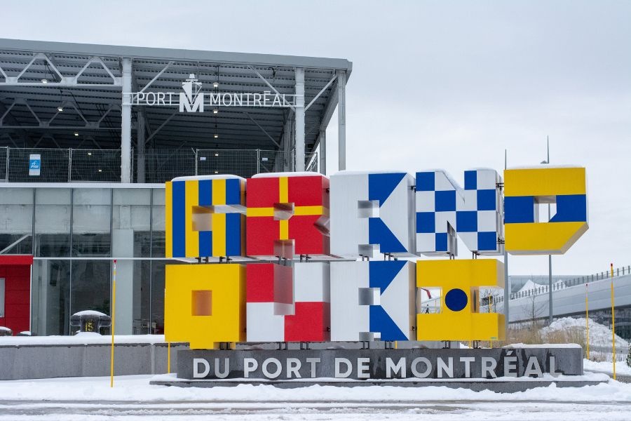 Grand Quai at the Port Montreal in Canada.