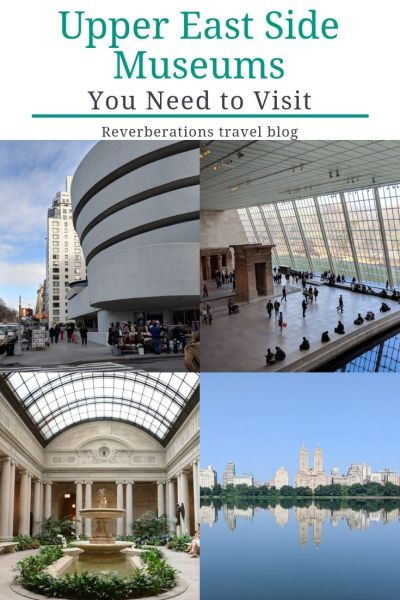 Upper East Side museums are as varied as the city itself. Here are five of the best that you need to visit on your next trip to New York City! #nyc #uppereastside #newyorkcity #newyork #museums
