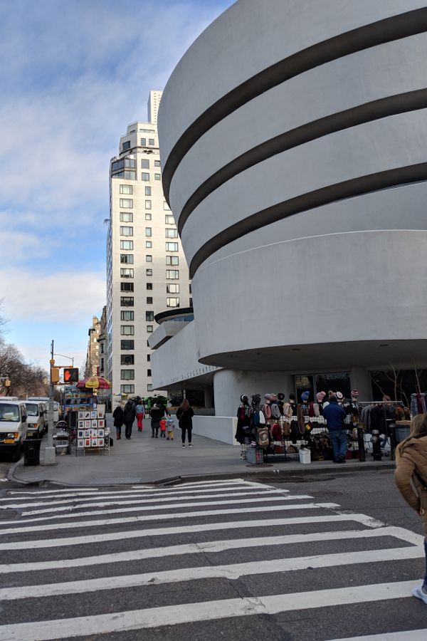 Guggenheim Museum, one of many Upper East Side museums.