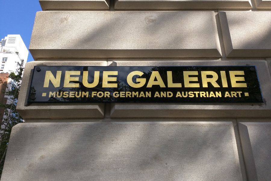 Neue Galerie, one of many Upper East Side museums.