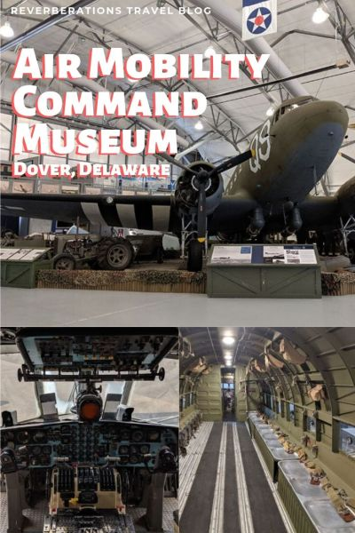 Air Mobility Command Museum is for more than gearheads! The museum has an impressive historical collection and is a great thing to do in Dover, Delaware! #dover #delaware #usa #museum