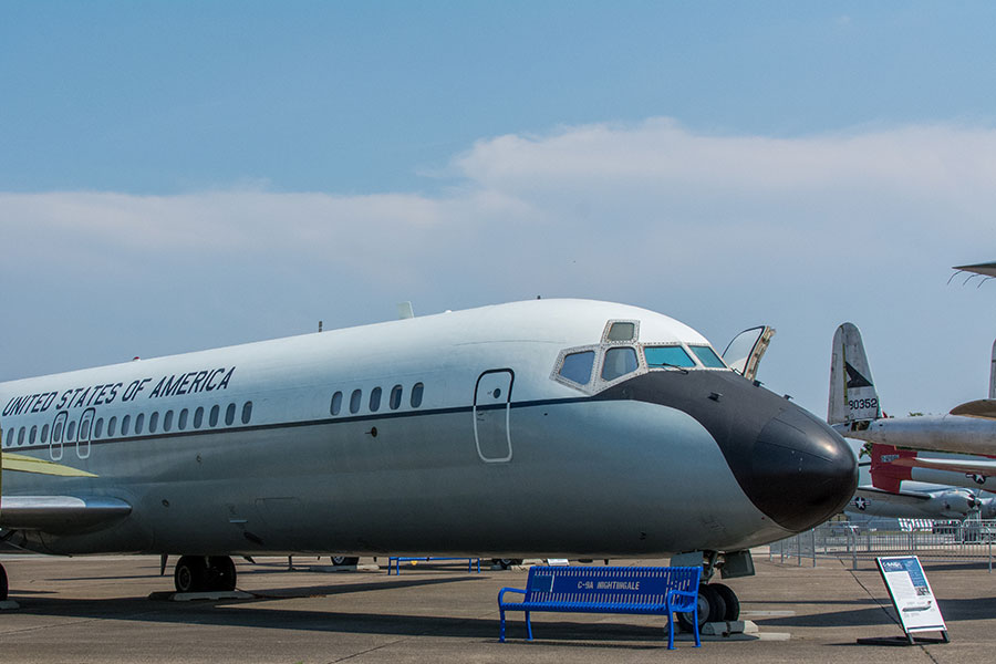 A C-9A Nightingale at the Air Mobility Command Museum in Dover, Delaware.