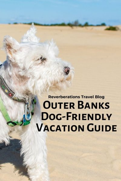 Plan your Outer Banks dog-friendly vacation! Here are recommendations for dog-friendly things to do in the Outer Banks plus restaurants and accommodations. #visitnc #dogsvisitnc #outerbanks