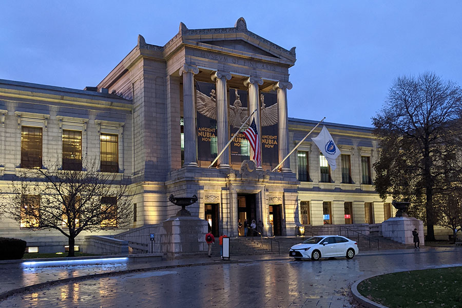 The Museum of Fine Arts, Boston is a must see for any trip to the city for arts lovers.