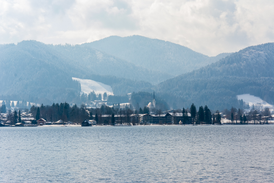 Whether it's winter or summer, the Tegernsee is one of many lovely day trips from Munich.
