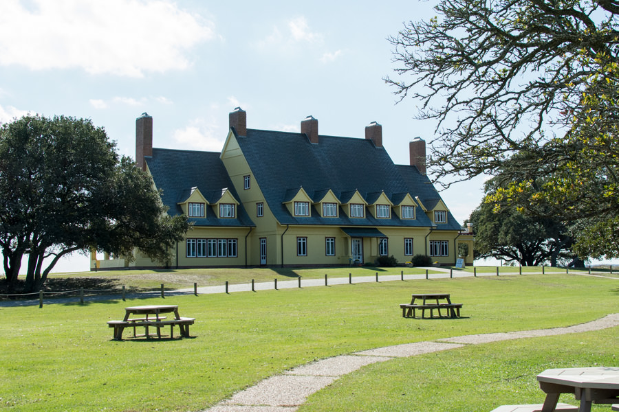 A visit to the Whalehead Club is a popular thing to do in Corolla, North Carolina.