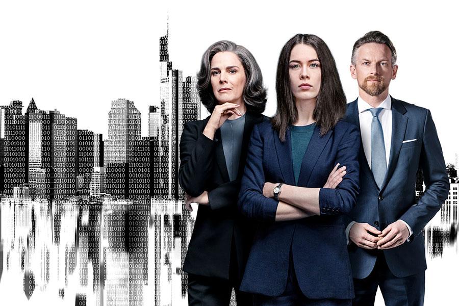 German TV show Bad Banks is on Hulu.