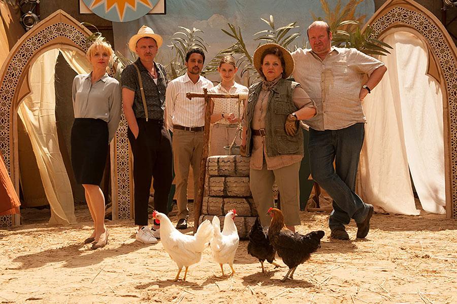 German TV comedy series Das Institut