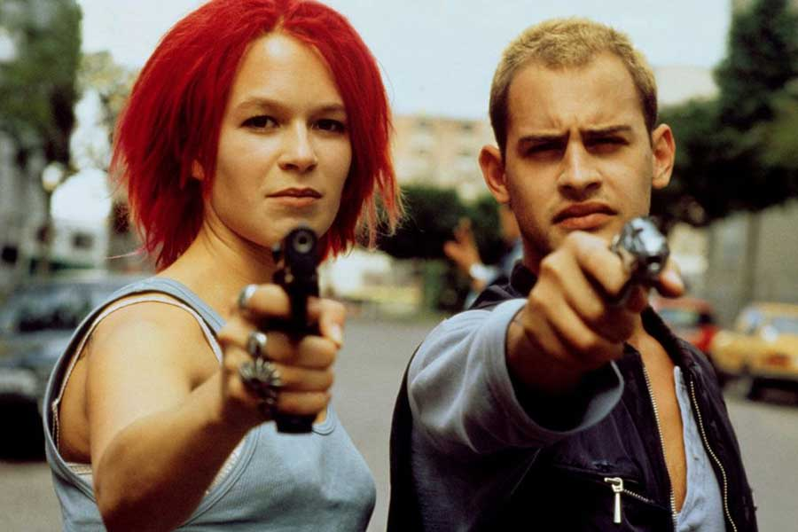 Learn German with the film Run Lola Run, starring Moritz Bleibtreu.