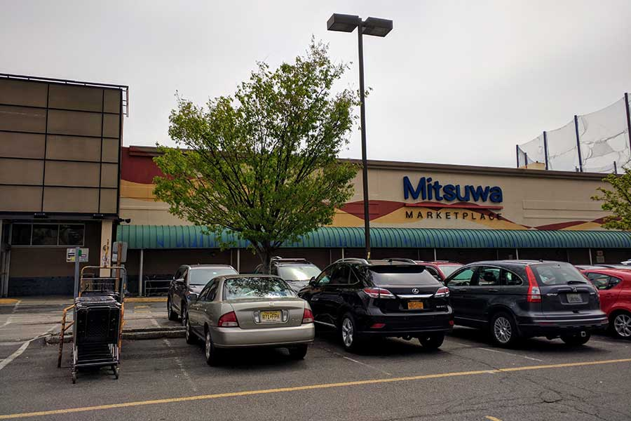 Mitsuwa Market in Edgewater, New Jersey, is a one-stop shop for Japanese groceries and items.