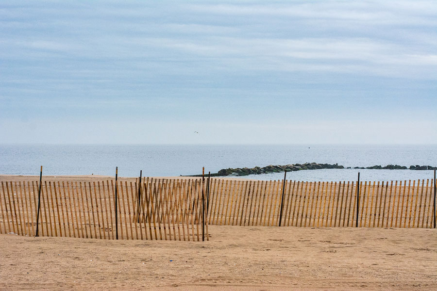 Wide beaches welcome visitors in Brooklyn's Coney Island.