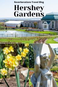 Hershey Gardens should be on every list of things to do in Hershey. You can comfortably enjoy a visit to the garden in a single afternoon.
