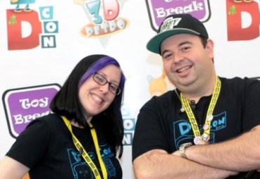 DesignerCon Ben and Ayleen