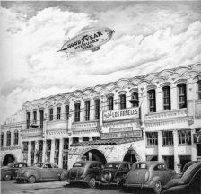 """Old Los Angeles"" by Iva Hladis"